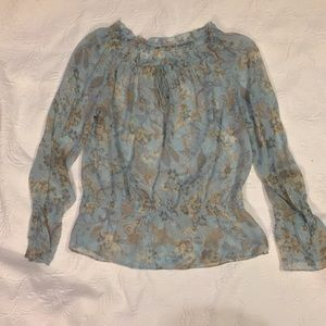 Tops - Beautiful dressy top blue